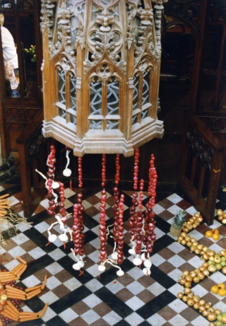 bullring chandelier
